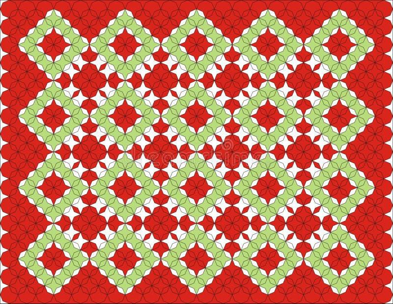 Fond de configuration de tapis illustration stock