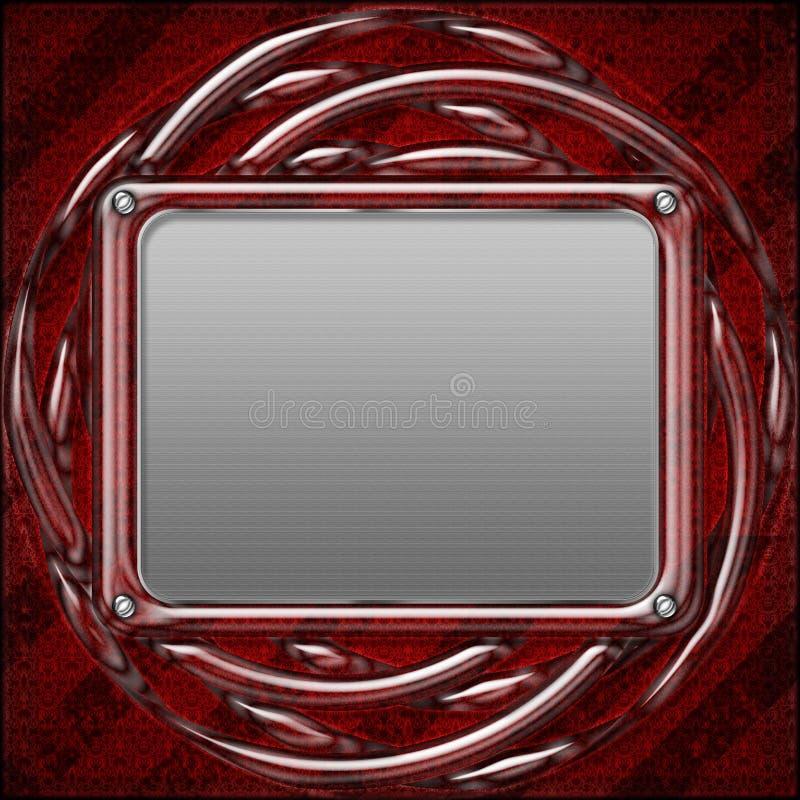 Fond de configuration en métal photographie stock libre de droits