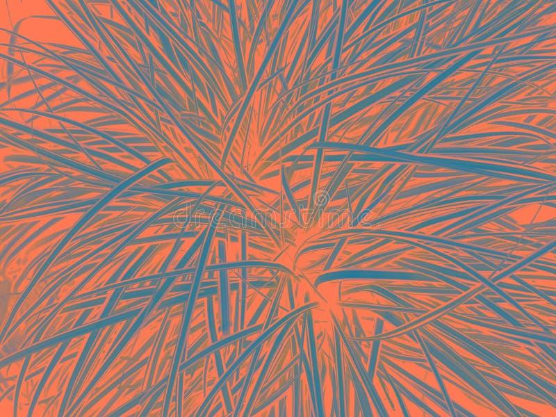 Fond de corail vivant Contexte de corail vivant pour votre conception Concept à la mode de couleur de l'année 2019 illustration stock