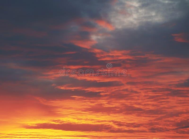 Fond de coucher du soleil image libre de droits