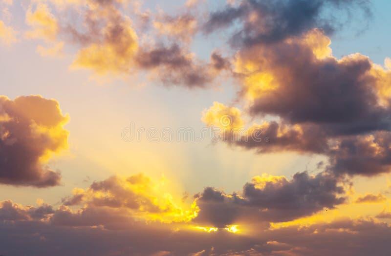 Fond de coucher du soleil photos stock