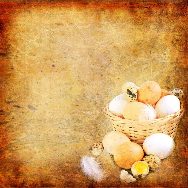 Fond de cru de Pâques image stock