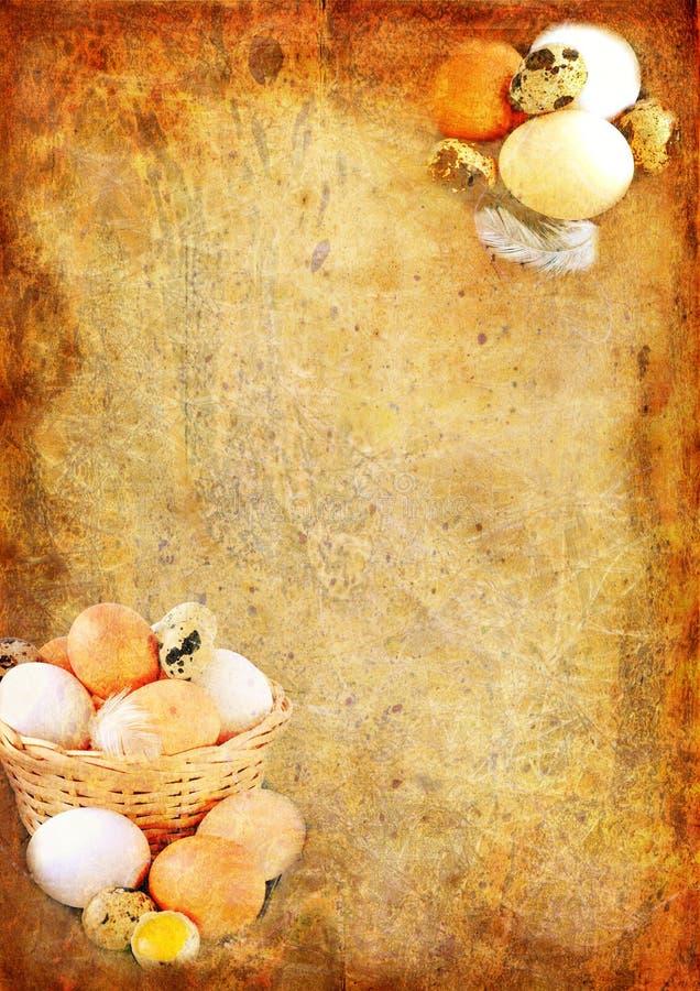 Fond de cru de Pâques illustration libre de droits