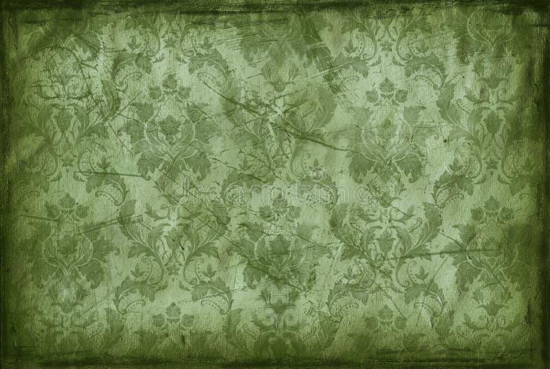 Fond de cru de vieux papier peint illustration de vecteur