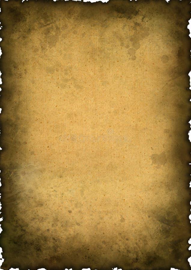 Fond de cru - vieux papier image libre de droits