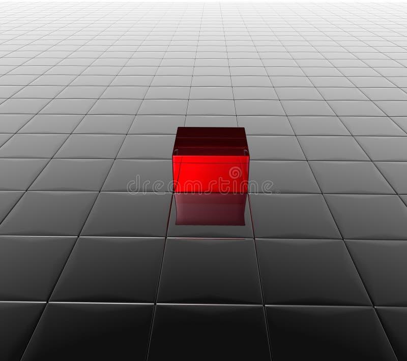 Fond de cube illustration stock