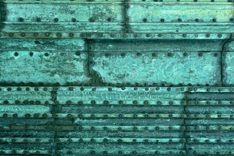 Download Fond de cuivre photo stock. Image du patine, feuille - 45351274