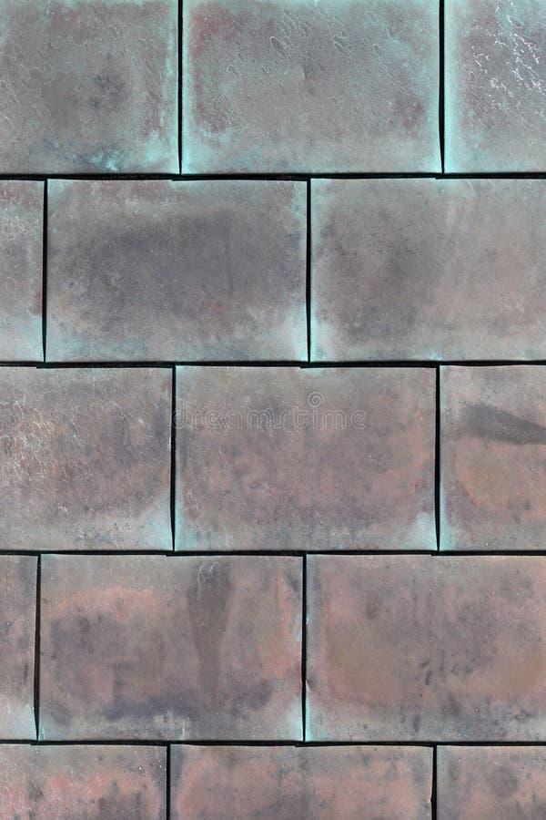Fond de cuivre grunge de structure photo libre de droits