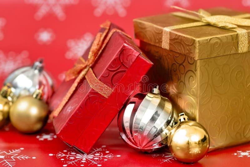 Fond de décor de Noël photos libres de droits