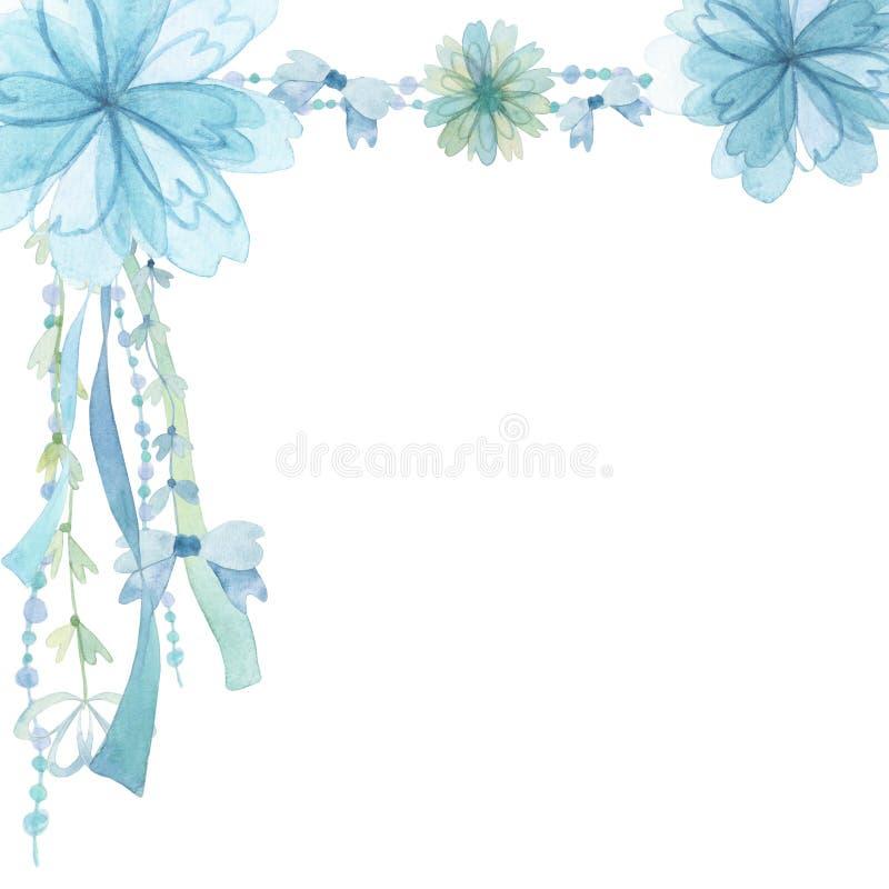 Fond de décoration de fleur illustration libre de droits