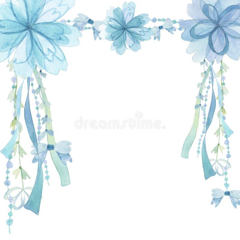 Fond de décoration de fleur illustration stock