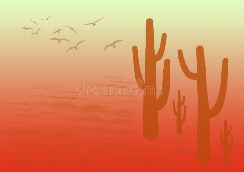 Fond de désert image stock