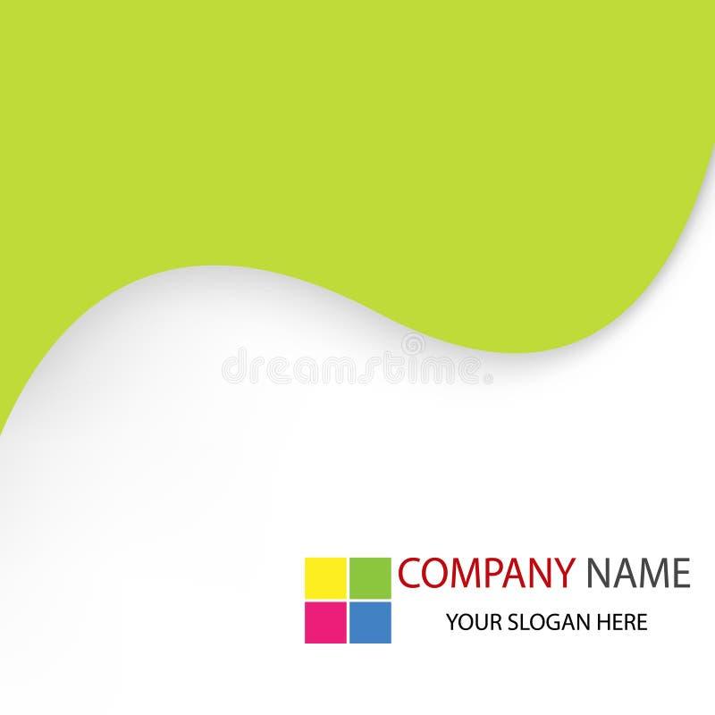 Fond de descripteur d'entreprise constituée en société illustration stock