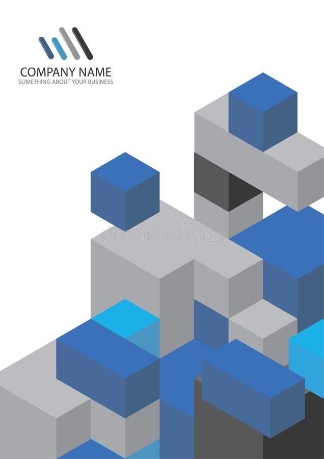 Fond de descripteur d'entreprise constituée en société illustration libre de droits