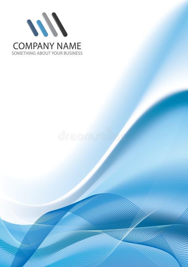 Fond de descripteur d'entreprise constituée en société illustration de vecteur