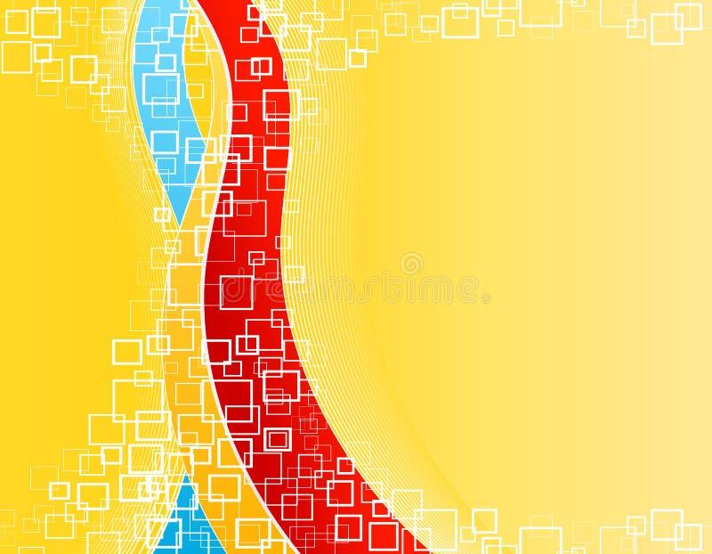 Fond de dessin-modèle de formes de célébration illustration stock