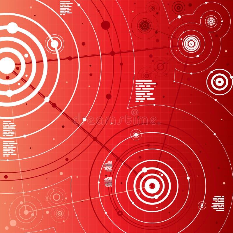 Fond de Digitals illustration libre de droits