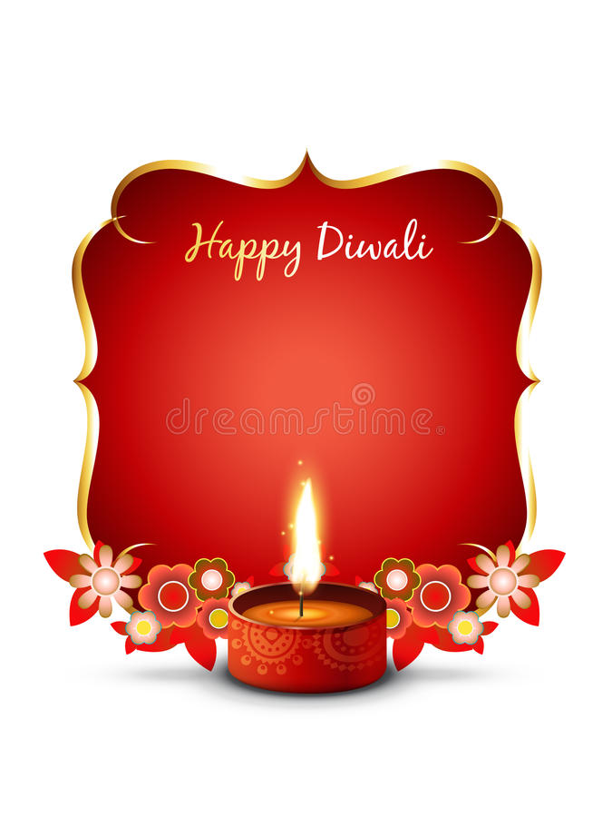 Fond de Diwali illustration libre de droits