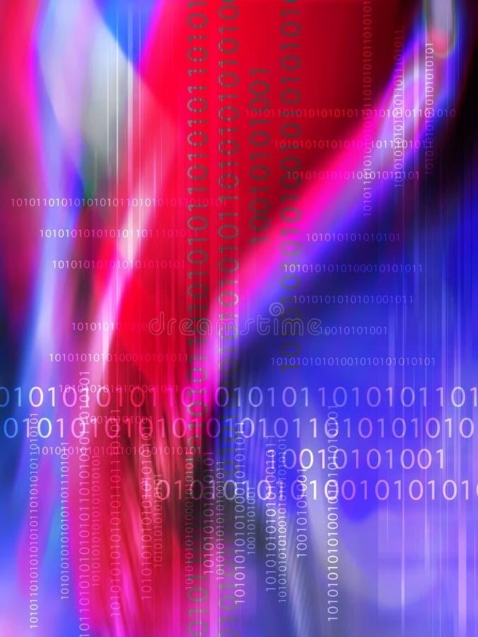 Fond de données de Digitals illustration libre de droits