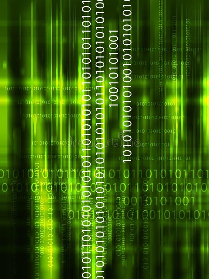 Fond de données de Digitals illustration de vecteur