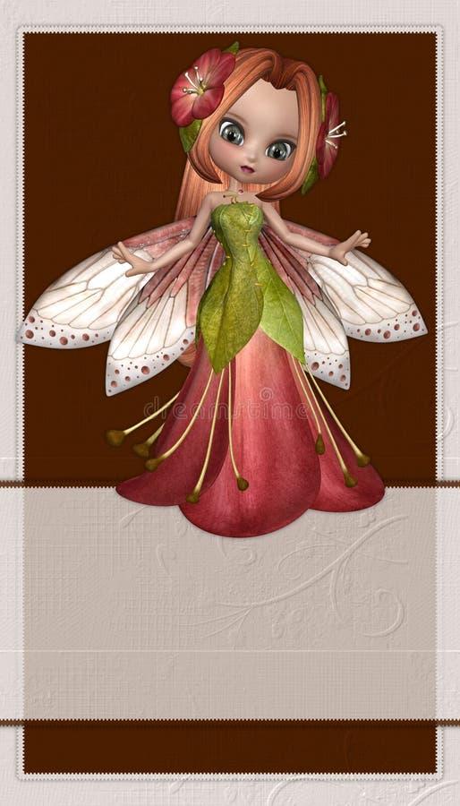 Fond de fée de fleur illustration libre de droits