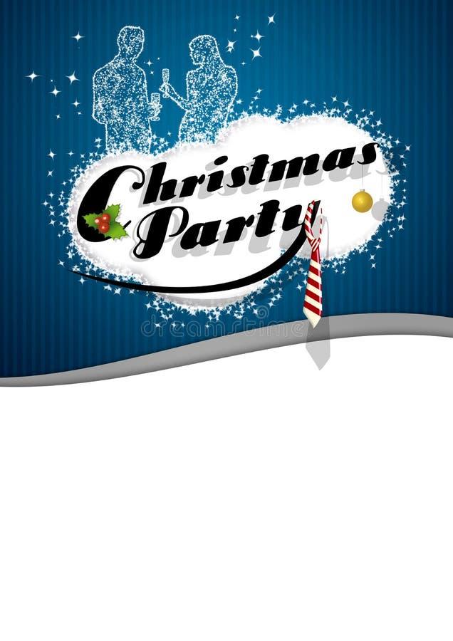 Fond de fête de Noël illustration libre de droits