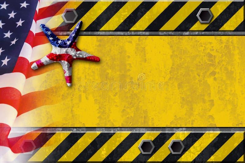 Fond de Fête du travail illustration libre de droits
