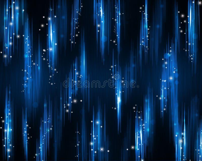 Fond de fête et riche de bleu. illustration libre de droits