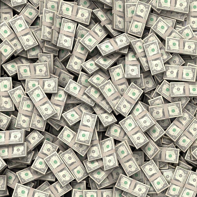 Fond de factures d'argent photos libres de droits