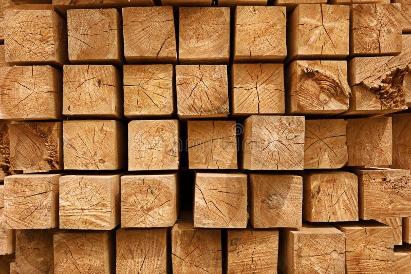 Fond de faisceaux en bois photos stock
