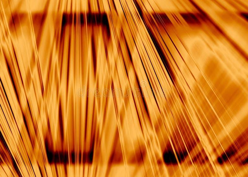 Fond de faisceaux lumineux d'or illustration stock