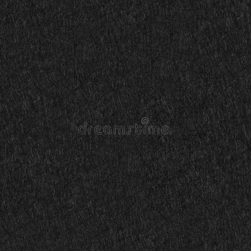 Fond de feutre de noir La texture carrée sans couture, couvrent de tuiles prêt image libre de droits