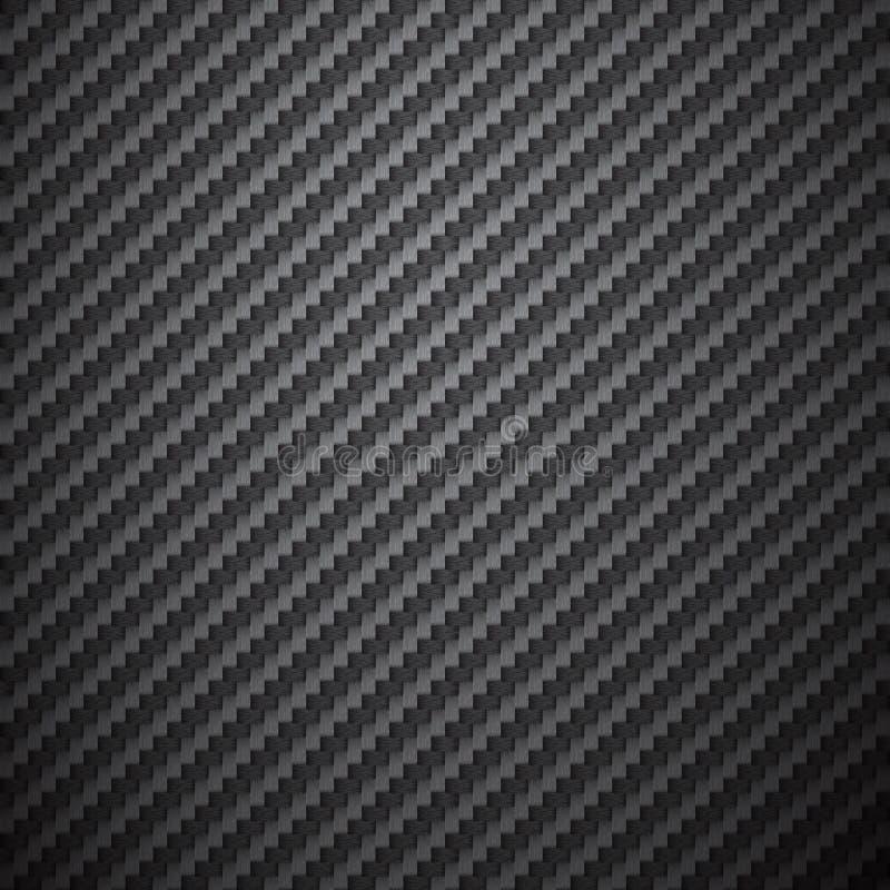 Fond de fibre de carbone illustration libre de droits