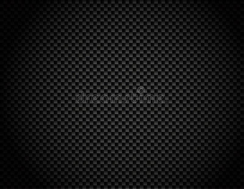 Fond de fibre de carbone de vecteur illustration de vecteur
