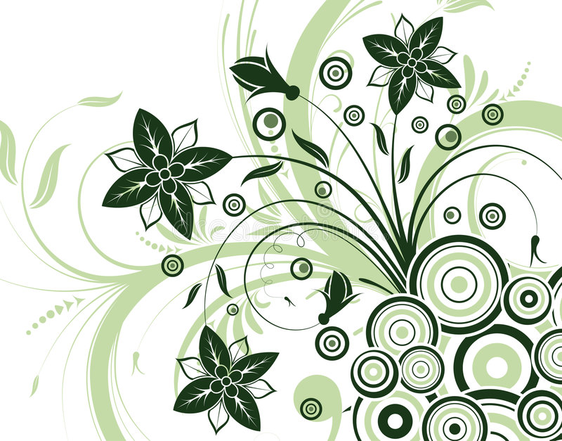 Fond de fleur illustration stock