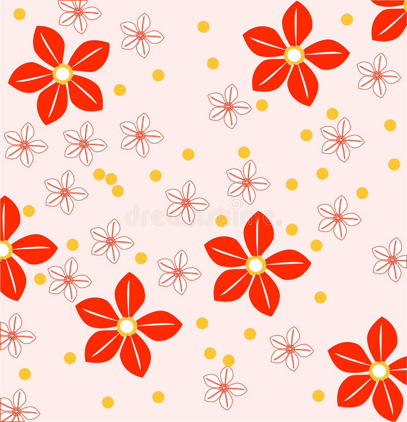 Fond de fleur illustration de vecteur