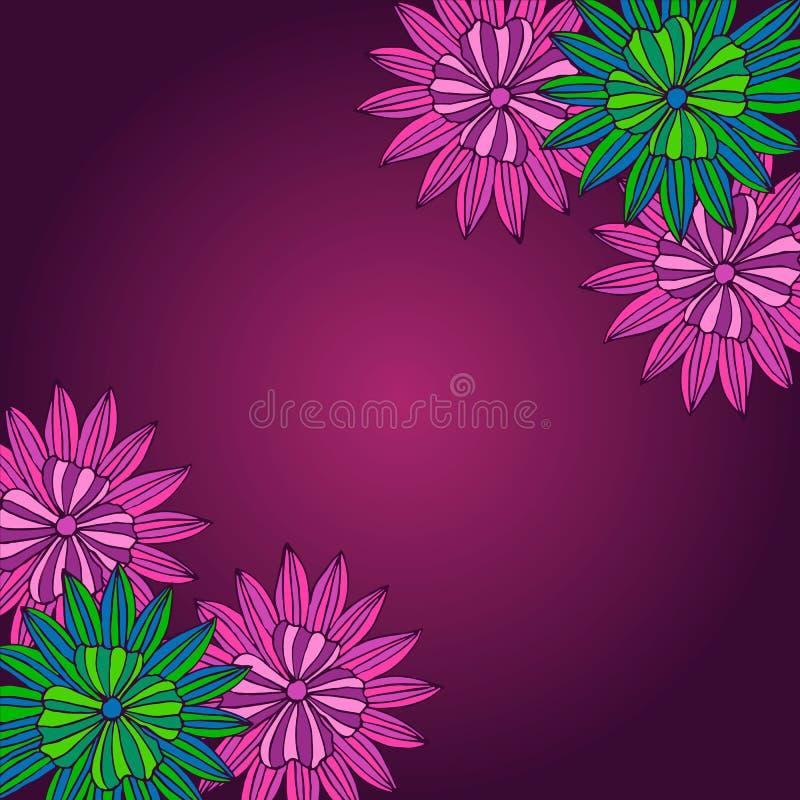 Fond de fleur photo stock