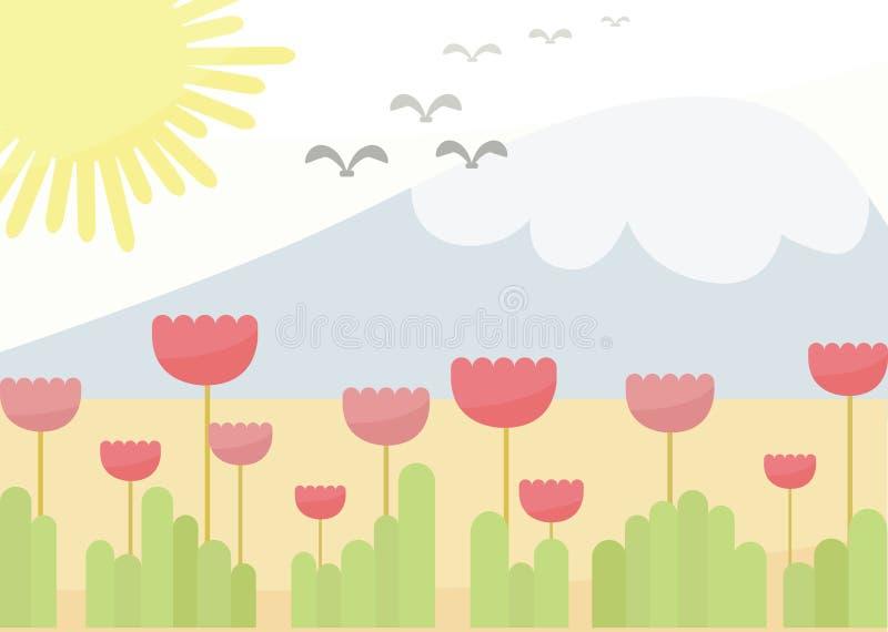 Fond de fleur d'imagination photos stock