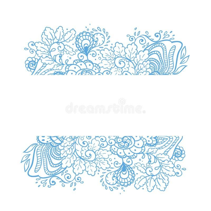 Fond de fleur de vecteur. illustration libre de droits