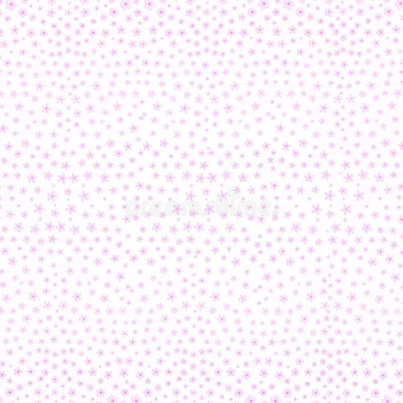 Fond de fleurs de cerisier de Sakura Sans couture décoratif illustration de vecteur
