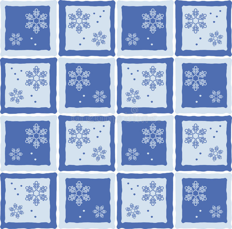 Fond de flocon de neige illustration de vecteur