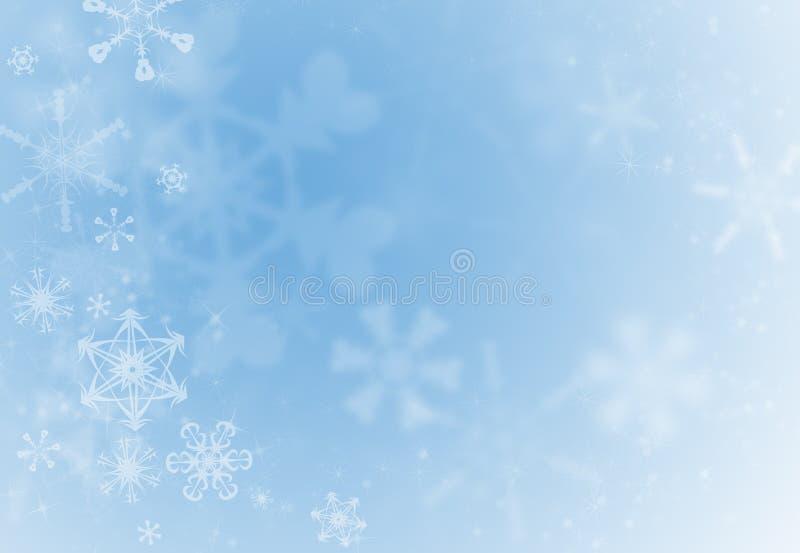 Fond de flocon de neige de vacances illustration libre de droits