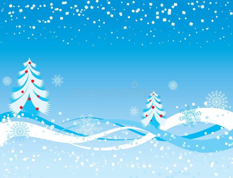 Fond de flocon de neige, vecteur illustration libre de droits