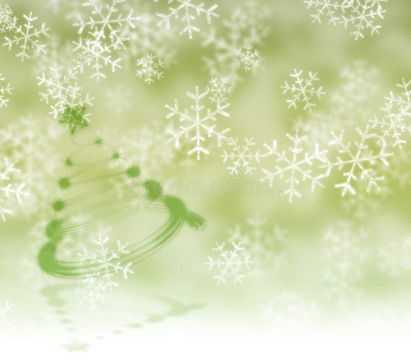 Fond de flocons de neige illustration libre de droits