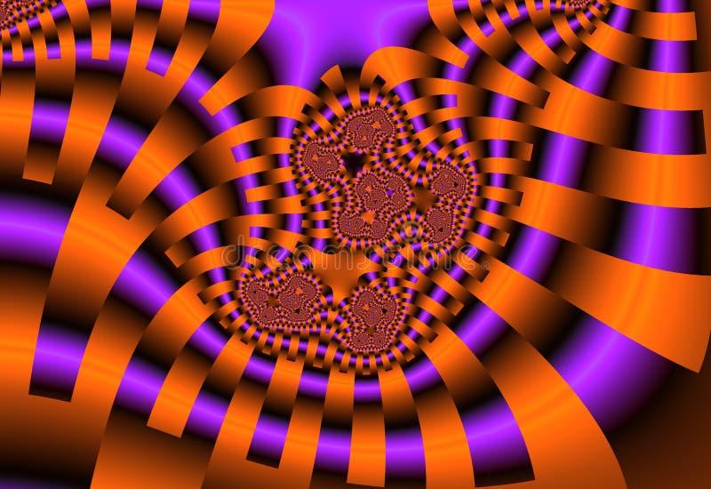 Fond de fractale illustration de vecteur
