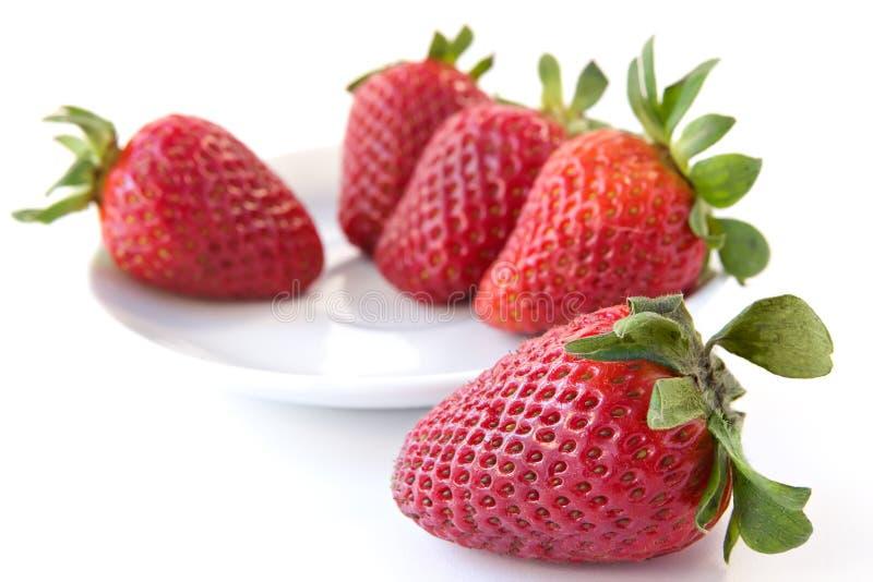 Fond de fraise image stock