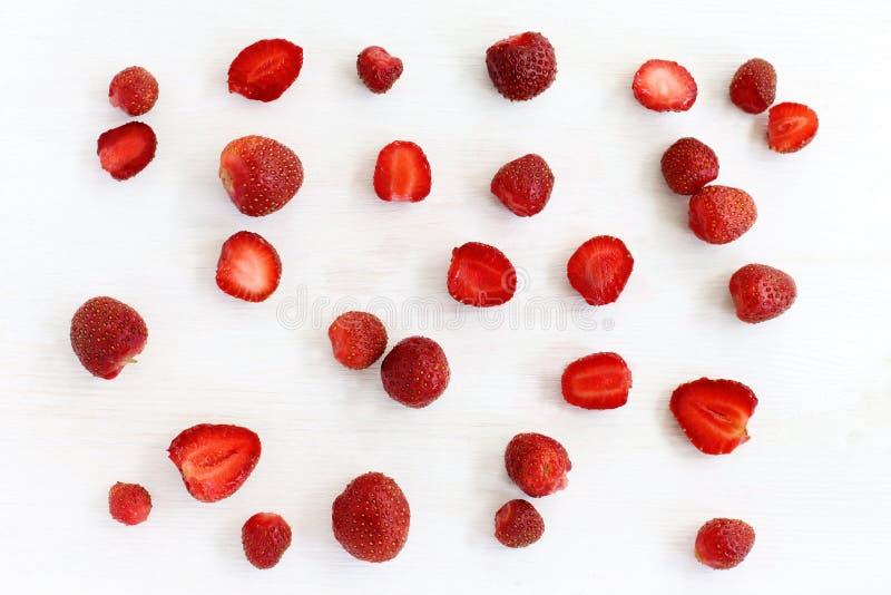 Fond de fraise photos stock