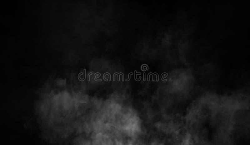 Fond de fumée de mystère Texture abstraite de brouillard pour le copyspace images stock