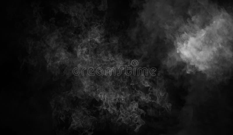 Fond de fumée de mystère Texture abstraite de brouillard pour le copyspace image stock