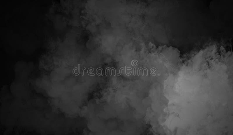 Fond de fumée de mystère Texture abstraite de brouillard pour le copyspace photos stock